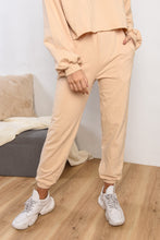 Load image into Gallery viewer, HIGH WAISTED PANTS - BEIGE