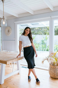 SALLY SKIRT - BLACK