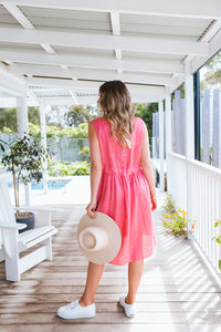 HATTIE DRESS - ROSE