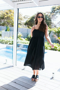 LILA DRESS - BLACK