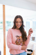 Load image into Gallery viewer, TIGER SWEAT - PINK