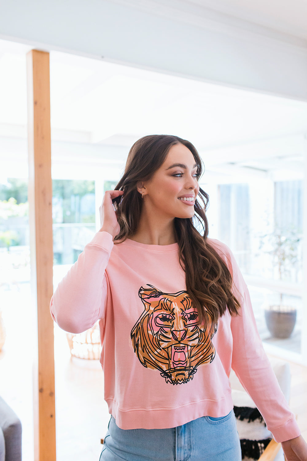 TIGER SWEAT - PINK