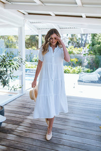 ANGELIQUE DRESS - WHITE