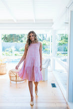 Load image into Gallery viewer, ELKA DRESS - PINK GINGHAM