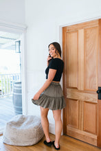 Load image into Gallery viewer, SUPPLE WASHED SKIRT - KHAKI