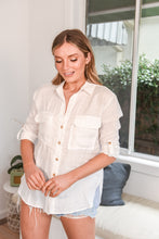 Load image into Gallery viewer, SUMMER LINEN SHIRT - WHITE