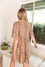 Load image into Gallery viewer, STEVIE DRESS - LEOPARD