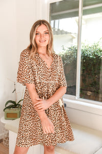 STEVIE DRESS - LEOPARD