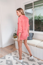 Load image into Gallery viewer, SUMMER LINEN SHIRT - PINK