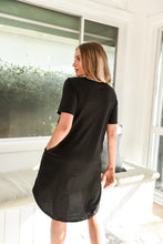 Load image into Gallery viewer, NYREE DRESS - BLACK