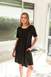 NYREE DRESS - BLACK