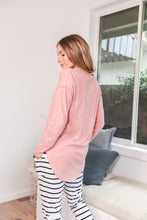 Load image into Gallery viewer, MACKENZIE LONGSLEEVE CREW - PINK