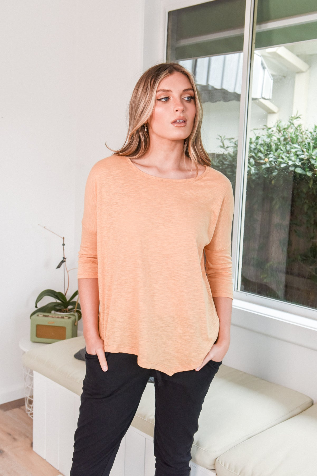 NICOLE TOP - BUTTER