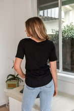 Load image into Gallery viewer, SAN JOSE TEE - BLACK