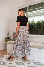 Load image into Gallery viewer, TALULAH MAXI SKIRT - PINK LEOPARD