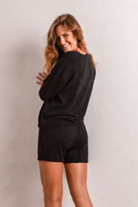 SOUL KNITTED SET - BLACK