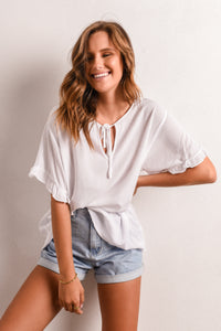 EYA TOP - WHITE