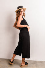 Load image into Gallery viewer, PRIMA LINEN PANT - BLACK