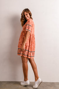 STEVIE DRESS - ORANGE