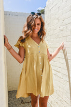 Load image into Gallery viewer, MENZIE DRESS - MUSTARD