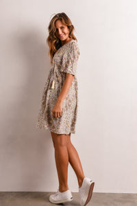 STEVIE DRESS - WHITE FLORAL