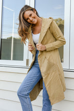 Load image into Gallery viewer, NAOMI HOODED CARDIGAN - MUSTARD