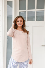 Load image into Gallery viewer, LAYLA LONGSLEEVE TEE - BLUSH
