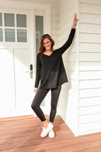 Load image into Gallery viewer, HARPER LONG SLEEVE - BLACK