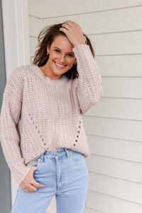 PANDORA KNIT - DUSTY PINK