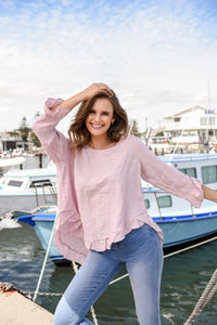 ELK LONG SLEEVE TOP - LILAC