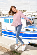 Load image into Gallery viewer, ELKY LONG SLEEVE TOP - PINK