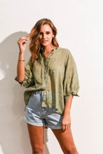 Load image into Gallery viewer, THESSY TOP - KHAKI