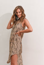 Load image into Gallery viewer, THESSY DRESS - LEOPARD