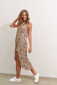 THESSY DRESS - LEOPARD