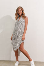 Load image into Gallery viewer, THESSY DRESS - WHITE SPOT