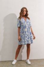 Load image into Gallery viewer, STEVIE DRESS - BLUE