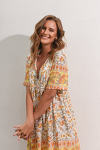 Load image into Gallery viewer, STEVIE DRESS - YELLOW FLORAL
