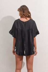 ELK TOP - BLACK
