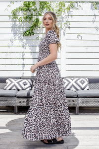 DIXIE DRESS - LEOPARD