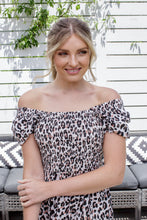 Load image into Gallery viewer, DIXIE DRESS - LEOPARD