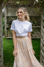 Load image into Gallery viewer, KYE SKIRT - YELLOW STRIPE