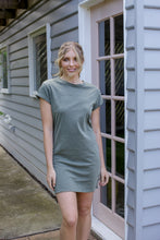 Load image into Gallery viewer, OBSESSION TEE DRESS - MILITARY