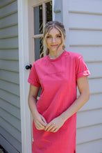Load image into Gallery viewer, ALL ABOUT EVE WASHED TEE DRESS - ROSE