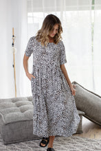 Load image into Gallery viewer, CROSS MAXI DRESS - LEOPARD