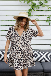 SOHO DRESS - LEOPARD