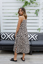 Load image into Gallery viewer, ISLA DRESS - LEOPARD (PRE ORDER)