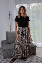 Load image into Gallery viewer, NYLA SKIRT - LEOPARD