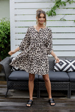 Load image into Gallery viewer, TORI DRESS - LEOPARD