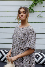 Load image into Gallery viewer, ELKY DRESS - LEOPARD PRINT