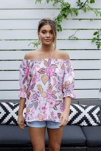 CANDY FLOSS TOP - PRINT